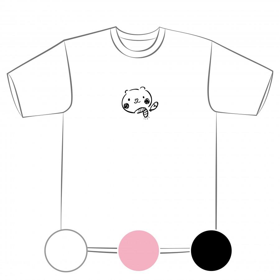 【預購】北極熊的秘密-排汗衣/白色/粉紅色/黑色-