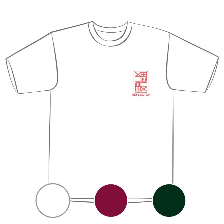 【預購】反思者-排汗衣/白色/棗紅色/藏青色-