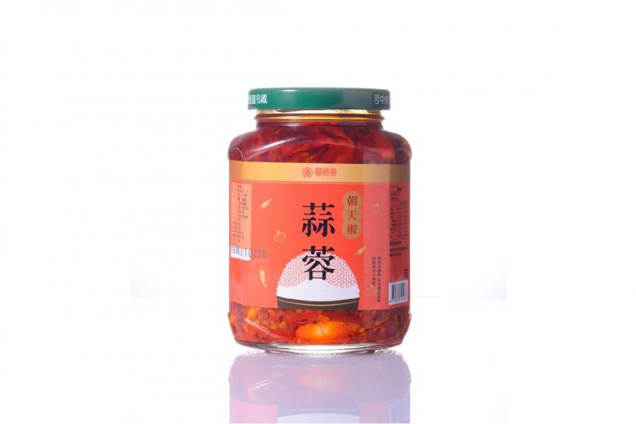 蒜蓉朝天椒醬(250g)