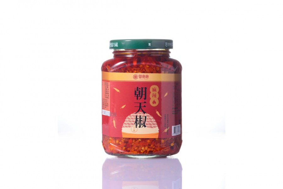 麻辣朝天椒醬(230g)(全素)
