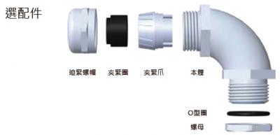 30-FTL-E型金屬電纜固定頭-選配件
